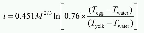 egg-mass-formula